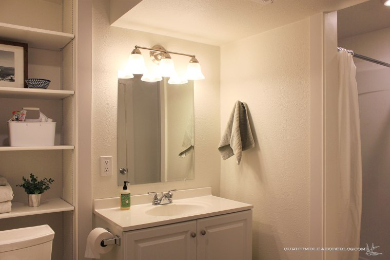 Basement-Bath-Addition-Vanity-and-Shelves
