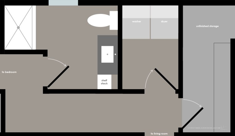 Basement-Bathroom-and-Laundry-Room-Plan