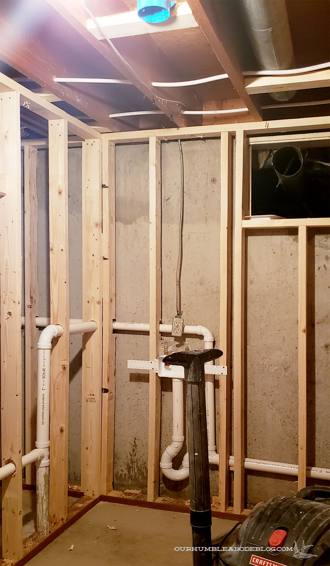 Basement-Progress-Laundry-Room