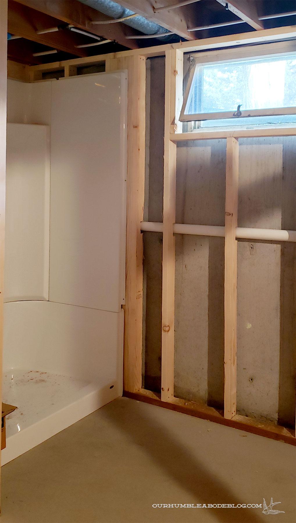 Basement-Progress-Shower